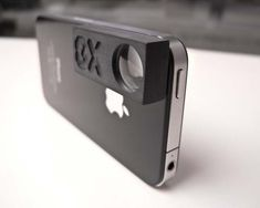 This 8X macro lens turns your iPhone into a very powerful macro photography tool.