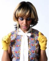 Santi White (born September 25, 1976), better known by her stage name Santigold (formerly Santogold), is an American songwriter, producer, and singer. Her debut album Santogold was released to positive reviews in 2008.Her new album Master of My Make-Believe is announced for spring 2012.