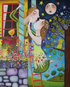 Leandro Lamas Digital Illustration, Graphic Illustration, Puzzle Art, This Is Love, Whimsical Art, Face Art, Creative Art, Painting & Drawing, Fantasy Art