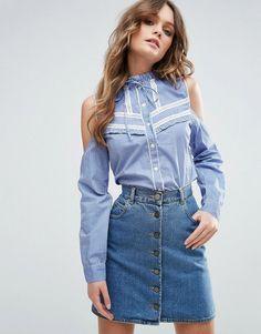 568782e6 Camisas Femininas: Jeans, Social e Mais - Lojas Renner   camisa ...