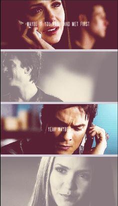 Elena and Damon. 3x22