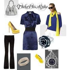 A variety of Theta Phi items!