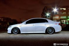 Varrstoen wheels on acura tl   Now for the pictures...