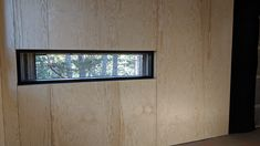 Untreated pine panels installed with 2mm spacing