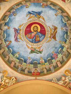Hope Beel, Christian Artwork, Church Interior, Byzantine Icons, Orthodox Christianity, Orthodox Icons, Blessed Mother, Christian Faith, Ikon