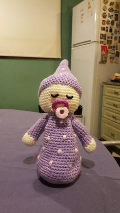 Bebé dormilon crochet