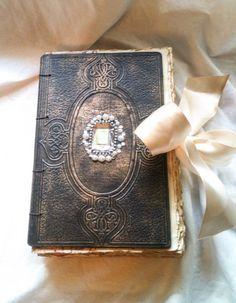 Hand Bound coptic stitch journal/grimoire/spell book/book of shadows/sketchbook/art journal
