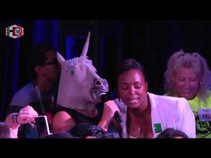 Nerd HQ 2015: Aisha Tyler - Unicorn Encounter (Supernatural Panel Highlight) - YouTube