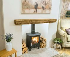 Wonderful Free of Charge wooden Fireplace Hearth Thoughts Best Photographs Fireplace Hearth stone Tips Artisan Inglenook with Stone Surround – Artisan Fir Fireplace Hearth Stone, Wooden Fireplace Surround, Wood Burner Fireplace, Country Fireplace, Cottage Fireplace, Inglenook Fireplace, Home Fireplace, Living Room With Fireplace, Fireplace Surrounds