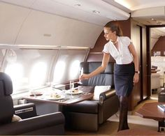 Nothing like traveling with great service, comfort, and a little style.