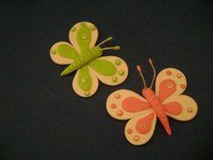 mariposas porcelana