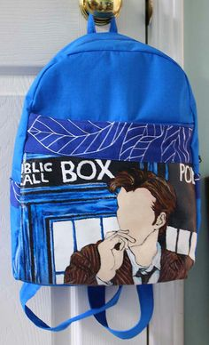 doctor who backpack!