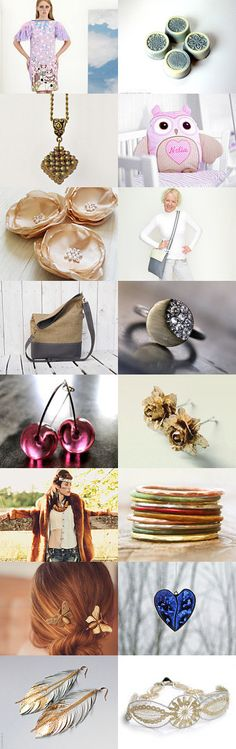 A touch of gold by Daniela Varga on Etsy--Pinned with TreasuryPin.com