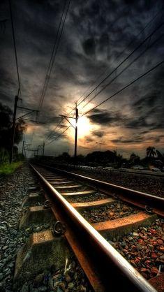 Railroad track.:)Did.G                                                                                                                                                                                 More