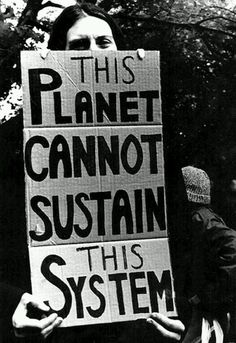 This image explains that the lifestyles (and system) that we value are ruining our planet. This touches on the fact that there finite resources and we are living within larger means than we can produce sustainable energy for. This relates to the image of the hourglass in that we are running out of time and resources.