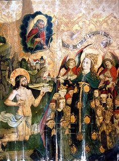 Intercessio; Schutzmantelmadonna 1480-1490; Brno; Tschechien; Mährische Galerie http://tarvos.imareal.oeaw.ac.at/server/images/7013923.JPG