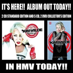 """KimWildeOfficial on Instagram: """"Get down to HMV or visit the Cherry Red Web store to get yourself a copy now! 🤘❤️🤘"""" Cherry Red, Album, Photo And Video, Store, Instagram, Larger, Shop, Card Book"""