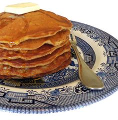 Spiced Harvest Pancakes; perfect with some #PlugraButter on top! www.plugra.com