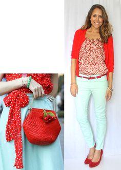 J's Everyday Fashion: Today's Everyday Fashion: Cherries
