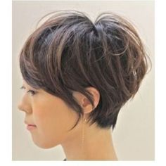 Just love it!! Long Pixie cut with