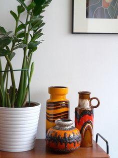 West German vases | Flickr - Photo Sharing!