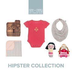 Our newest collection for your hipster babe! #finnandemma