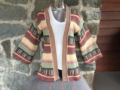 Colorful 70's Sweater by VintageKleidoscope on Etsy