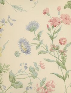 Sanderson Cornish Meadow from Classic Collections no 2.  Wallpaper.