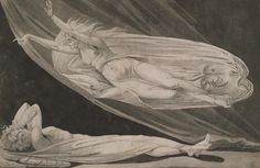 WORK 30 (WORKS ON PAPER COLLECTION) Johann Heinrich (Henry) Fuseli, Julia appearing to Pompey in a Dream, pencil on paper, early 1770s. All images © Whitworth Art Gallery, The University of Manchester.