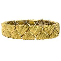 Alex Sepkus Gold Bracelet at