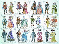 Pako Kreuz Stich Stickmustertuch Set - Historische Kleid (Von 1450 - 1909) | eBay