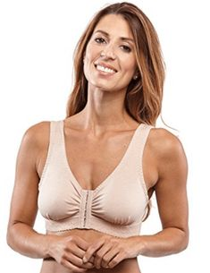 Shop Women's Full-Freedom Front Closure Wireless Cotton Bra - Beige - Online, Discover More Women's Everyday Bras On Sale Up to off. Over 50 Womens Fashion, Womens Fashion Online, Most Comfortable Bra, Everyday Fashion, Clothes For Women, Freedom, Closure, Beige, Sleep