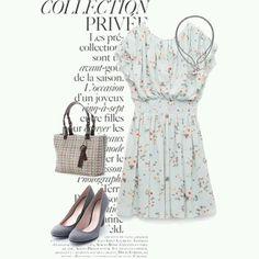 #dress #necklace #bag #tote #pumps #coordinate #collection #fw16 #tgc #feminine #simple #tokyo #iQON #pintarest #mao_pak #o_range  o(^-^o)(o^-^)o (Tokyo Opera City Tower)