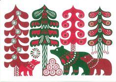 Marimekko Design Sanna Annukka - Greeting card 5 | Flickr - Photo Sharing!