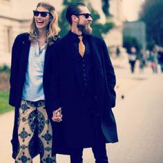 הכירו את הזוג עם הכי הרבה סטייל בעולם האופנה