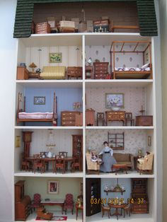 This is my wall dollhouse