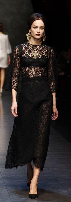 Dolce & Gabbana, f/w 2013.