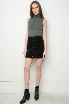 Brandy ♥ Melville | Koa Turtleneck Tank - Tops - Clothing