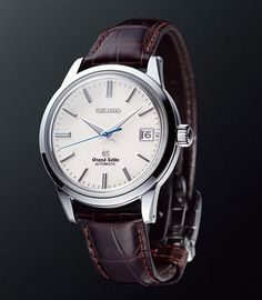 Clean lines and impeccable finishing distinguish the Grand Seiko line from all other timepieces in the world. The quietly but sublimely. Men's Watches, Timex Watches, Dream Watches, Luxury Watches, Cool Watches, Watches For Men, Trendy Watches, Amazing Watches, Beautiful Watches