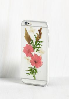 Pressing Information iPhone 6/6s Case. After adorning your phone with this clear case, you'll have important news to deliver - this cell covering is the sweetest accessory around! #multi #modcloth