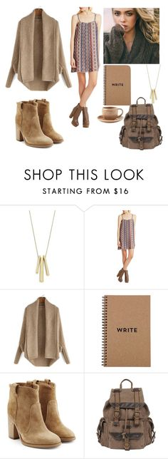 """""""Going back to school"""" by manakda ❤ liked on Polyvore featuring Lauren Ralph Lauren, BCBGeneration, Laurence Dacade, Wilsons Leather, Toast, women's clothing, women, female, woman and misses"""