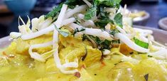 Lazy Chicken Curry Laksa