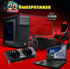 NCIX - Win $5,000+ in Computer Gear - http://sweepstakesden.com/ncix-win-5000-in-computer-gear/