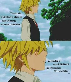 """La Maldición Del Triángulo"" (Meliodas Y Tu Y Zeldris) - capítulo 20 - Página 2 - Wattpad Otaku Anime, Sad Anime, Anime Naruto, Anime Love, Kawaii Anime, Seven Deadly Sins Anime, 7 Deadly Sins, Top Disney Movies, Anime Triste"