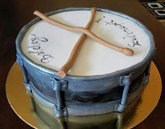 """Zenészeknek, dobosoknak - """"dobos""""torta"""