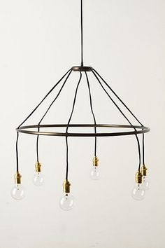 Halo Chandelier - anthropologie.com #anthrofave