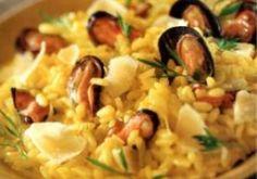 Risotto aux moules et copeaux de parmesan - Recettes - Cuisine française
