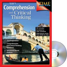 Comprehension and Critical Thinking – TIME for Kids® Series – Grade 4