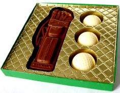 Amazon.com : Easter Basket Alternative, Easter Basket Filler, Sports Lover, Golf Lover, Father's Day Gift, Solid Milk & White Chocolate Cand...