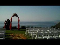 Liquid Sky has a stunning view of the Pacific Ocean in the background, a great  California wedding location near Half Moon Bay.